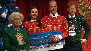 Kaum zu glauben, aber wahr: Britische Royals tragen bizarre Weihnachtspullis