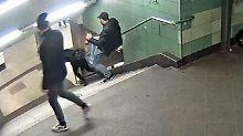 """Öffentliche Fahndung: Polizei veröffentlicht """"Treppentreter""""-Video"""