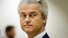 Partei in Umfragen vorn: Wilders verurteilt - aber nicht bestraft