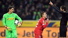 Vorne Billardtor, hinten Torklau: Gladbach duselt sich gegen Mainz zum Sieg