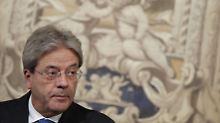 Ein Kabinett im Schnelldurchlauf: Gentiloni sucht Italiens künftige Minister