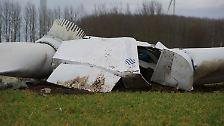 Einsturz in Mecklenburg-Vorpommern: Der Windrad-Crash bei Grischow