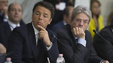 Umsturz in Italien: Matteo Renzi geht und Paolo Gentiloni kommt.