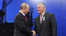 Freundschaftsorden von Putin: Moskau freut sich auf Rex Tillerson