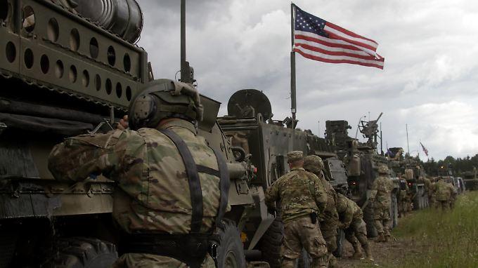 Die USA wollen im Osten Europas mehr Präsenz zeigen.