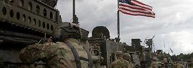 4000 Soldaten nach Polen entsendet: Konvoi der US-Armee rollt durch Deutschland