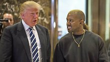 Duo Infernale: Donald Trump trifft Kanye West