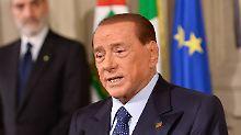 Seit Monaten mit Vivendi im Clinch: Silvio Berlusconi.