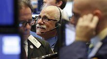 Die Fed bestimmt das Handelsgeschehen in New York.