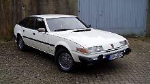 Exotisch, preisgünstig und acht Zylinder: das ist der Rover SD1 als 3500-Modell.