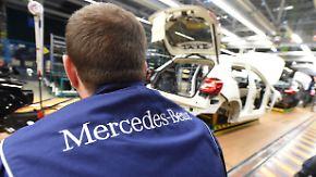 """""""Anwesenheitsbonus"""": Daimler belohnt Mitarbeiter ohne Fehltage"""