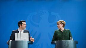 Mordfall Maria L. überschattet Gespräche: Tsipras wirbt in Berlin für Schuldenerleichterung