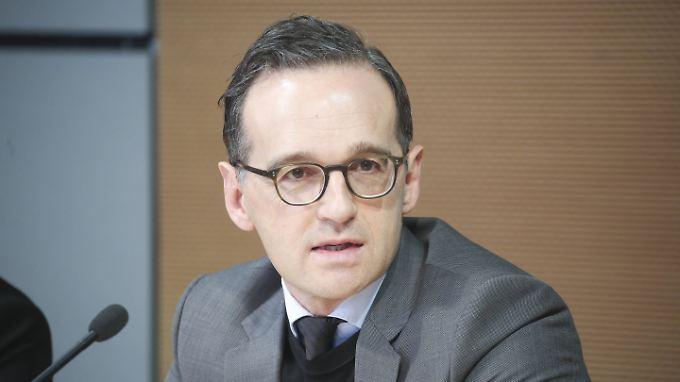 Bundesjustizminister Maas.