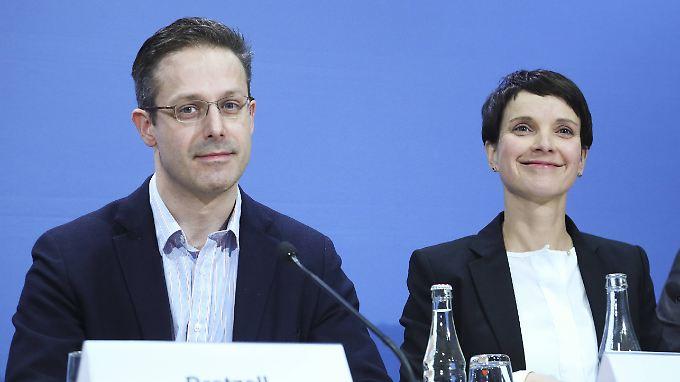 Marcus Pretzell und Frauke Petry