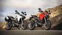 Durchzugsstark, drehfreudig, kultiviert – der V2 der Ducati Multistrada 950 kann einfach alles.