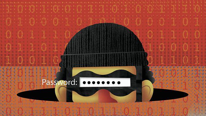 Der beste Schutz vor Hackern ist ein sicheres Passwort.