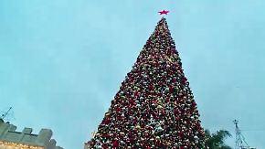 Zwischen Tradition und Volksfest: So feiern die Menschen in Nazareth Weihnachten