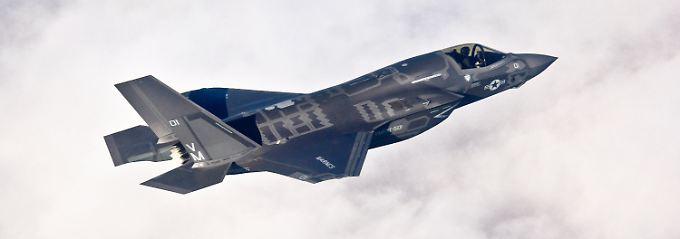 Die F35 soll in vielen Ländern wohl die ältere F16 ersetzen.