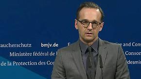 """Maas nach Tod von Amri: """"Werden alles dafür tun, die Hintergründe aufzuklären"""""""
