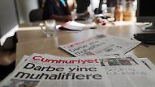 """Angebliche Präsidentenbeleidigung: """"Cumhuriyet""""-Kantinenchef verhaftet"""