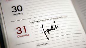 """Ruf nach gerechterer Verteilung: Deutschland wünscht sich eine Feiertags-""""Reformation"""""""