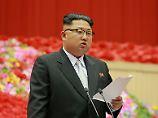 """Der """"Oberste Führer"""" ist nun bereits seit fünf Jahren in Nordkorea an der Macht."""