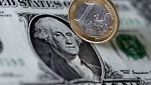 Der Euro ist auf dem Weg zur Parität zum US-Dollar.