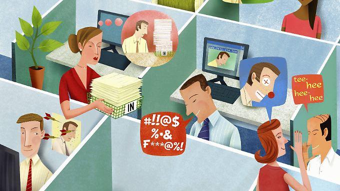 Wie es in einem Betrieb tatsächlich zugeht, können Interessierte zum Beispiel im Internet herausfinden.