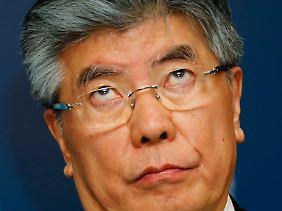 Verantwortlich für die Geldpolitik Südkoreas: Notenbankchef Kim Choong-so.