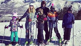Promi-News des Tages: Heidi Klum und Seal schicken Urlaubsgrüße aus dem Schnee