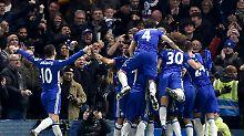 Schweinsteiger auf der Bank: Chelsea thront souverän an der Spitze