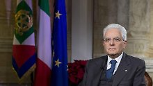 Gescheitertes Referendum in Italien: Mattarella nennt Bedingung für Neuwahlen