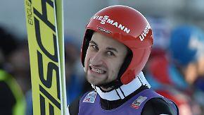 Deutschlands neue Skisprung-Hoffnung: Eisenbichler verpasst Podest in Garmisch