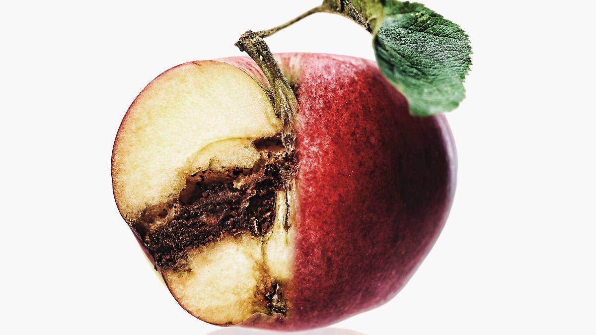 хотят картинка гнилое яблоко внутри этом фото