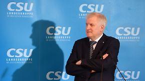 CSU-Klausur in Seeon: Seehofer wankt zwischen milde und trotzig