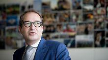 """Dobrindt nutzt umstrittenen Begriff: Verkehrsminister spricht von """"Nafris"""""""