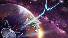 Extrem starke Strahlungsausbrüche: Zwerggalaxie erzeugt mysteriöse Radioblitze