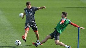 Vorbereitung bis an die Schmerzgrenze: Bayern und Leipzig haben in der Rückrunde viel vor