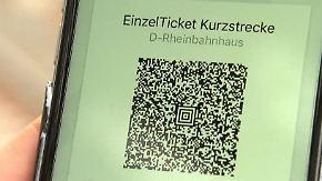 Handyticket statt Papier im Nahverkehr: Dobrindt will digitale Fahrkarte für alle Städte