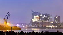 Der Klang ist phänomenal, der Preis auch: Rund 800 Millionen Euro zahlte Hamburg für die Elbphilharmonie.