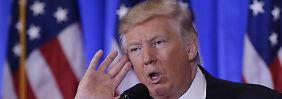 Kein Kurstreiber: Donald Trump.