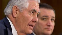 Künftiger US-Außenminister: Tillerson sieht Klimawandel als Bedrohung