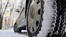 Alltagsprobleme im Schnee
