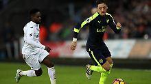 Arsenal siegt bei Özil-Comeback: Tottenham und Chelsea feiern Kantersiege