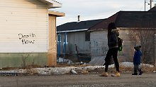 Selbstmordwelle in Reservat: Kanadas Indianer leben wie unter Apartheid