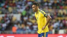 Afrika-Cup: Dämpfer für Gabun: Superstar Aubameyang trifft und schimpft