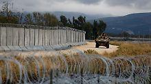 Grenze zu Syrien und Irak: Erdogans Mauer wächst