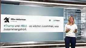 """n-tv Netzreporterin: Das denkt die Internetgemeinde über Trumps """"Bild""""-Interview"""