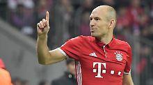 Flügelstürmer verlängert in München: FC Bayern setzt auf Robbens Titelhunger