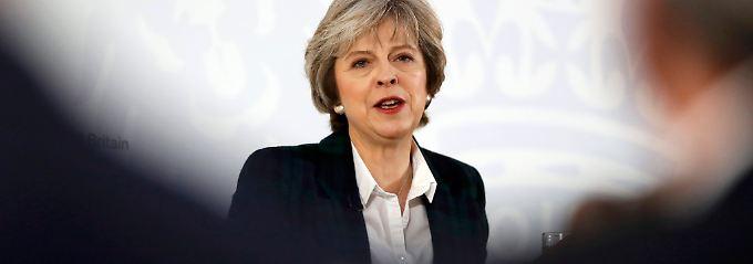 May umreißt ihren Brexit-Plan: Great Britain soll Global Britain werden